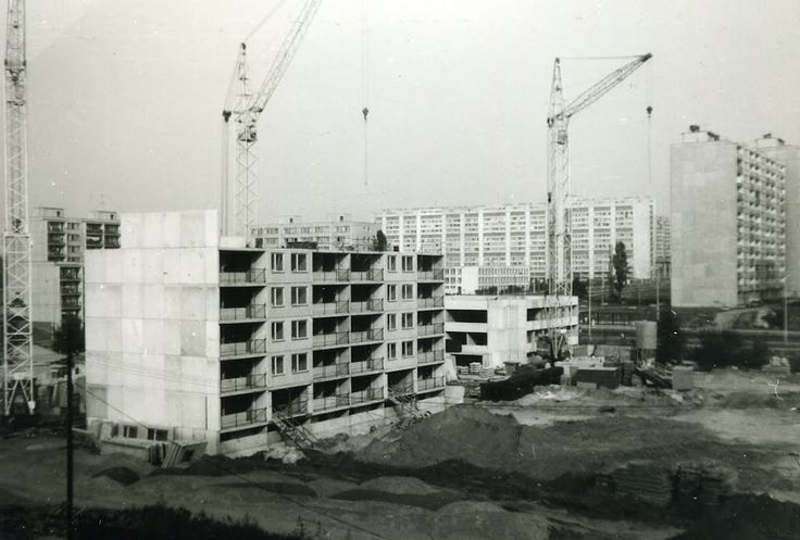1982 - Sídliště Bohnice