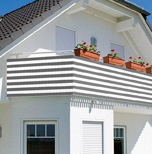AL© Privacy Screen Fence Mesh Windscreen Backyard Deck Patio Balcony 3 Ft  Height Beige (