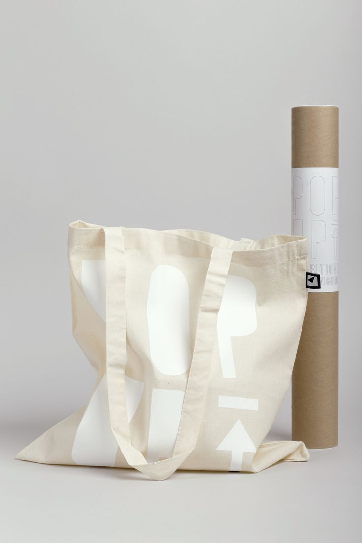 POP UP Exhibitions by Arjowiggins. Tote bag Barcelona.