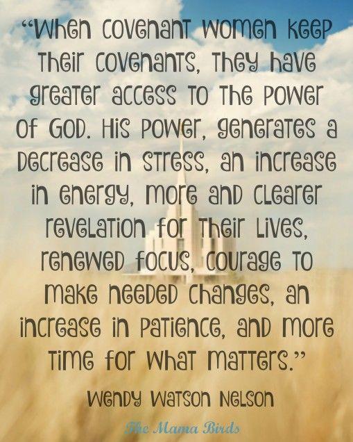Temple Covenants