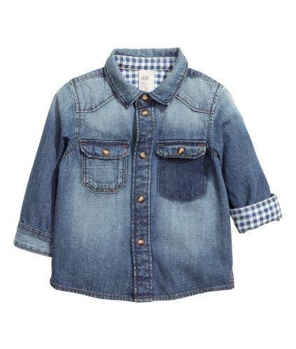 Denim Shirt | Product Detail | H&M