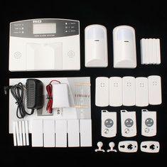 YA-500-GSM-21 sms de discagem automática alarme de segurança casa home office assaltante intruso GSM sem fio lcd33706