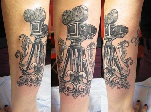 camera tattoo by Tattoo Culture, via Flickr
