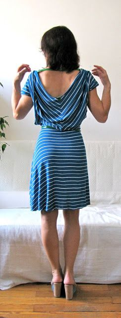 Of Dreams and Seams: Summer in the City: Tutorial, free pattern, how-to! #freesewing #freetutorial