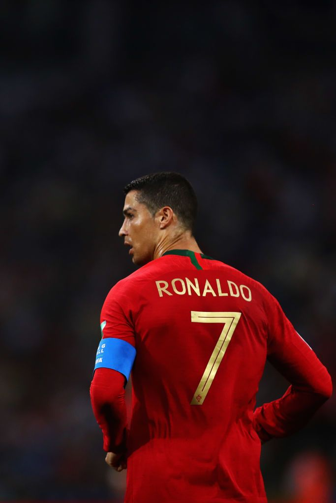 Cristiano Ronaldo Of Portugal In Action During The 2018 Fifa World Cristiano Ronaldo Ronaldo Cristiano Ronaldo Portugal
