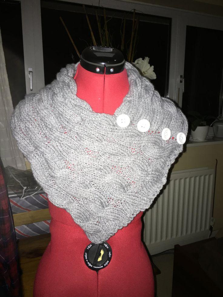Knitting scarf, Hand knit, Handmade item by MarianaPandi on Etsy
