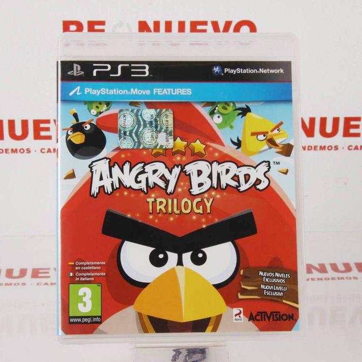 #Videojuego #ANGRY BIRDS #TRILOGY para #PS3 de segunda mano E272239 | Tienda online de segunda mano en Barcelona Re-Nuevo #segundamano