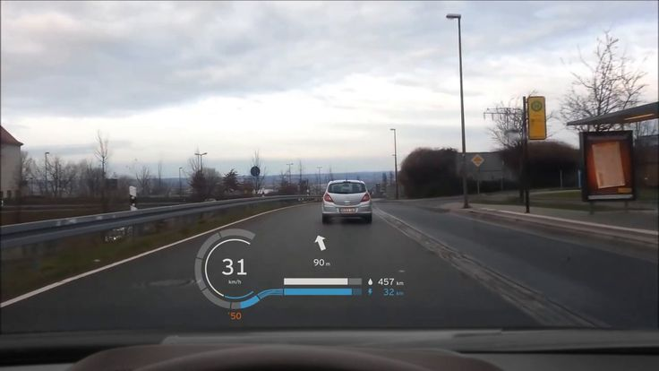 BMW i8 Head Up Display Concept.