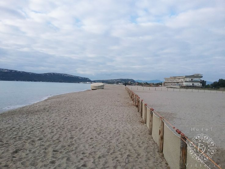 www.hotelbjvittoria.it #cagliari #sardegna #italy #beach #poetto #winter #oldhospitalatthebeach #