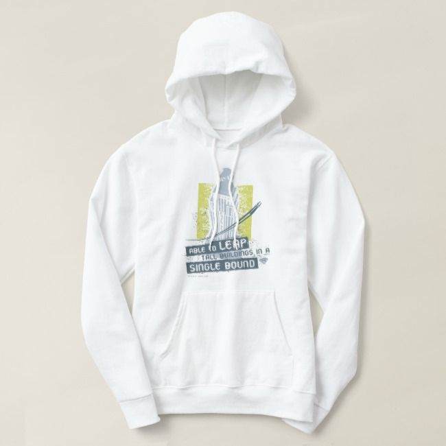 Superman Able To Leap Tall Buildings Hoodie Zazzle Com Hoodies