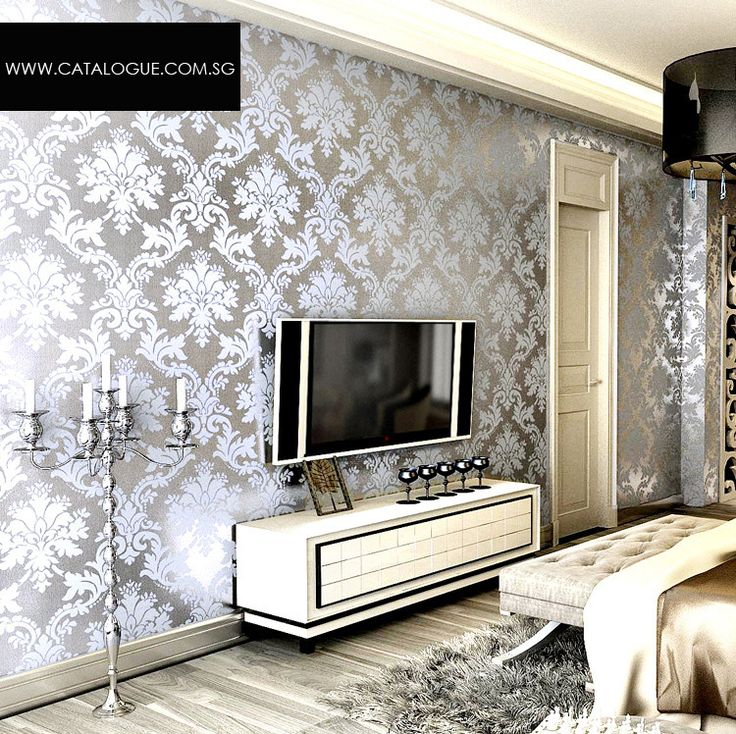 17 Best Ideas About Metallic Wallpaper On Pinterest