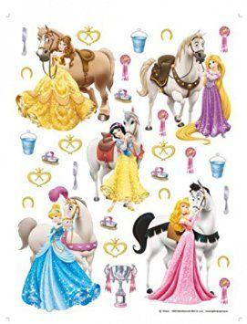 Disney Prinzessin - Belle, Rapunzel, Schneewittchen, Cinderella, Aurora Und Ihre…