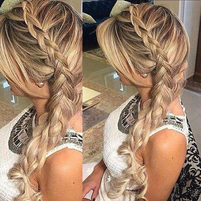 Peinado Para Fiestas Peinados Con Trenzas Elegantes Peinados Con Trenzas Peinados Con Trenzas Faciles