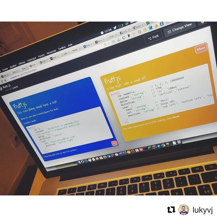 #Repost @lukyvj with @repostapp  Hello guys! So today beside working on the next release of colorify.js I developped a small other project called butt.js  It's all about hidden content on the back of  a component! Revealing itself with a 3d-transform flip! This solution works as a plugin to generate a panel behind an element writing the content in pure HTML and since it's in JS you can easily use it like you would use a template ( like handlebars) by using variables in the HTML content…