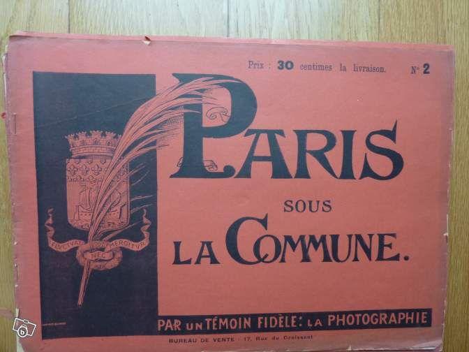 Paris sous la commune #chrisdeparis 10€