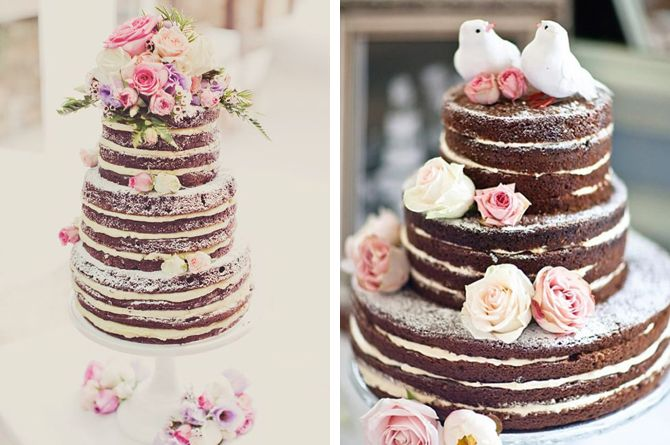 Naked Cakes - Weddings By Malissa Barbados