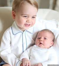 Prince George and Princess Charlotte pictures released