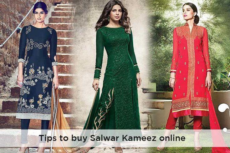 Some Easy & Quick #Tips to Buy Salwar Kameez Online  #salwarkameez #designersalwarkameez #fashion #style