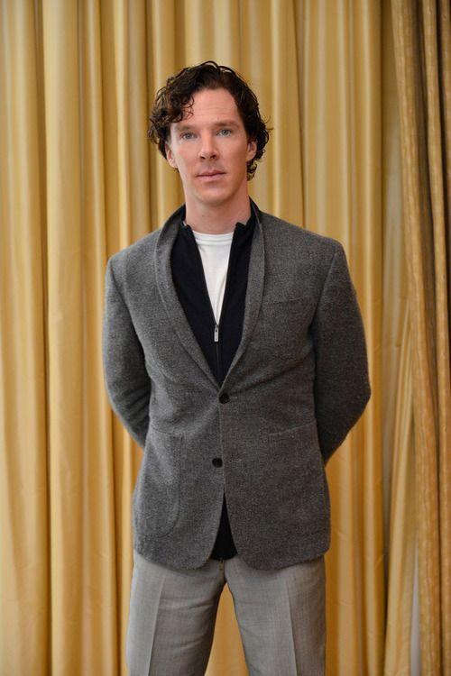 Benedict Cumberbatch in Japan.