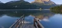 Engadine lakes, Engadin, Grisons, Switzerland