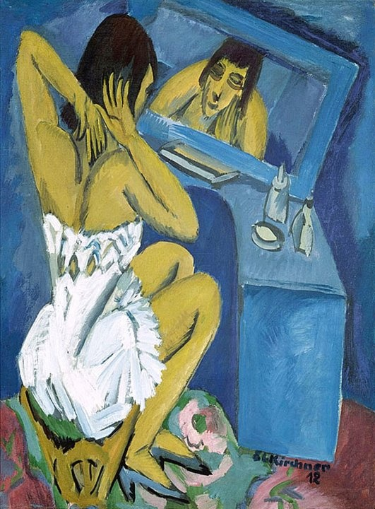 Expressionism. // painting by Ernst Ludwig Kirchner, 1912