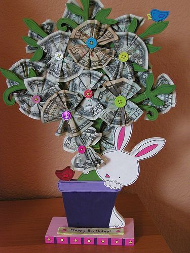 money tree gift idea, I would die if someone gave me this!!!