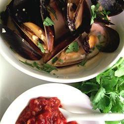 Thai Steamed Mussels Allrecipes.com