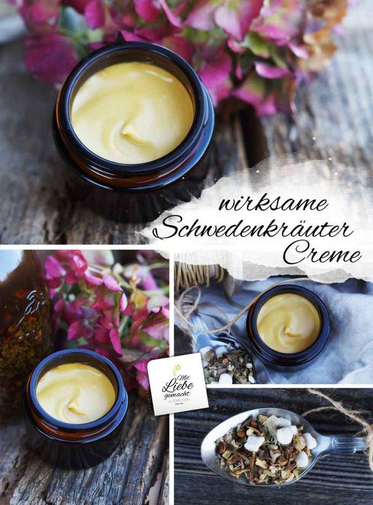 Wirksame schwedische Kräutercreme, die Sie selbst hergestellt haben   – Seife & Co