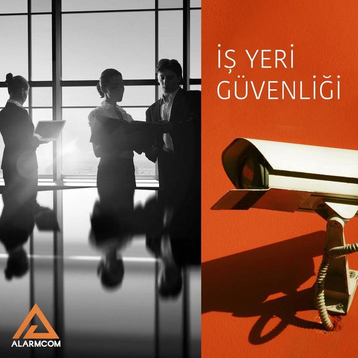 Alarm ve güvenlik sistemleri ile iş yeri güvenliğinizi sağlayın.