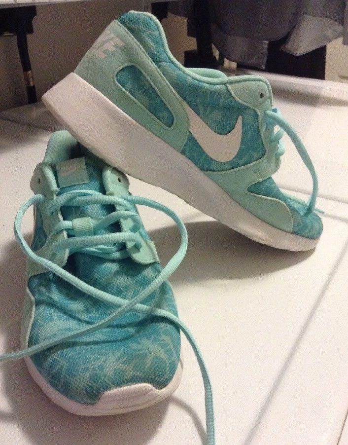 wholesale dealer 27a15 4880c Nike Kaishi Print womens size 8.5 LIGHT TEAL COLOR WITH WHITE TRIM  fashion   clothing  shoes  accessories  womensshoes  athleticshoes  ad (ebay link)    ...