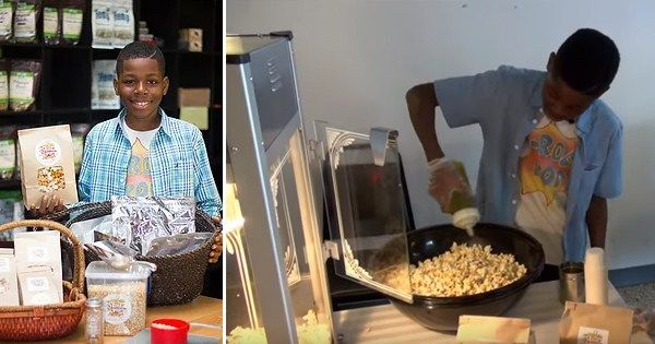12-YEAR-OLD LAUNCHES GOURMET VEGAN POPCORN COMPANY - As the founder of J-Rock's Pop Gourmet Vegan Popcorn, 12-year-old Jayden Hammond of the South Side of Chicago sells organic popcorn made with premium ingredients like organic coconut oil. The…