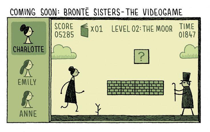Bronte Sisters Comic