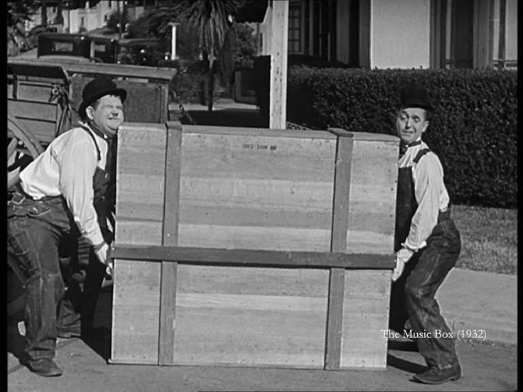 The Music Box (1932) - Probably the funniest Laurel and Hardy movie?!