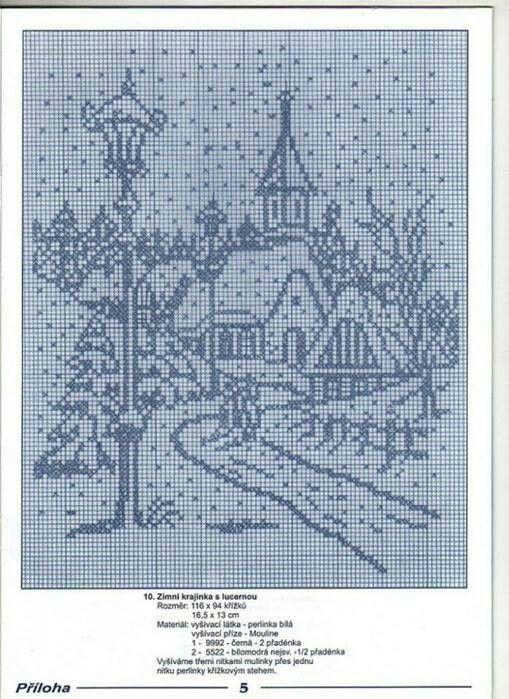 x stitch....village