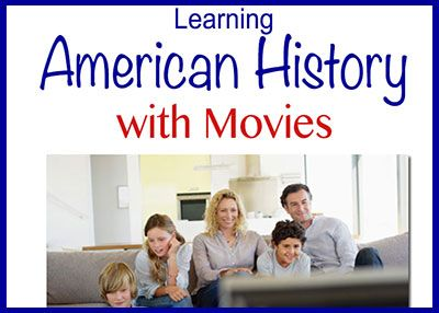 Movie Homeschooling I could not find a chronological list of movies of American History so I made t...