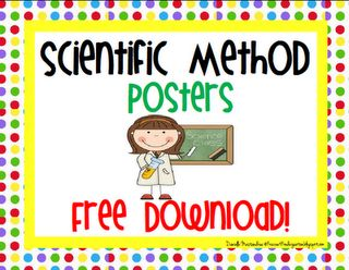 Freebie- Scientific Method Posters