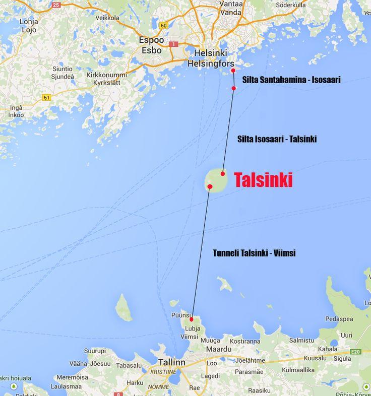 Nyt se ratkesi viimeinkin! Helsingin ja Tallinnan välille tunneli JA silta! - Tallinna Tutuksi