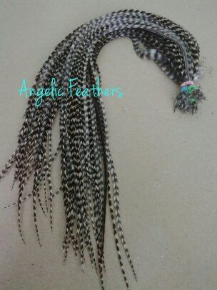 NATURAL FEATHER HAIR EXTENSIONS