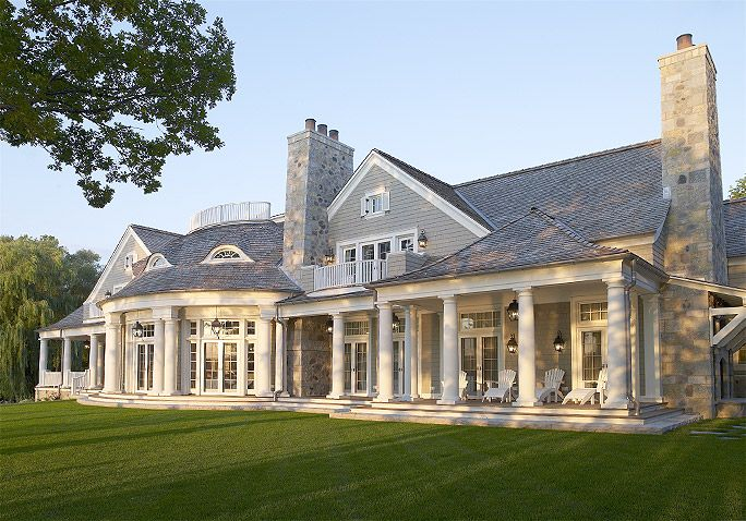 Wade Weissmann Architecture - Portfolio - Big Cedar Lake Shingle Style #Architect #SouthernLiving