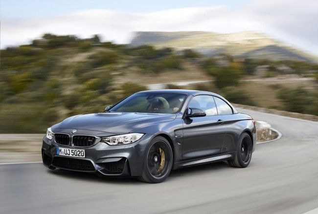 All-New 2015 BMW M4 Convertible Front Pictures