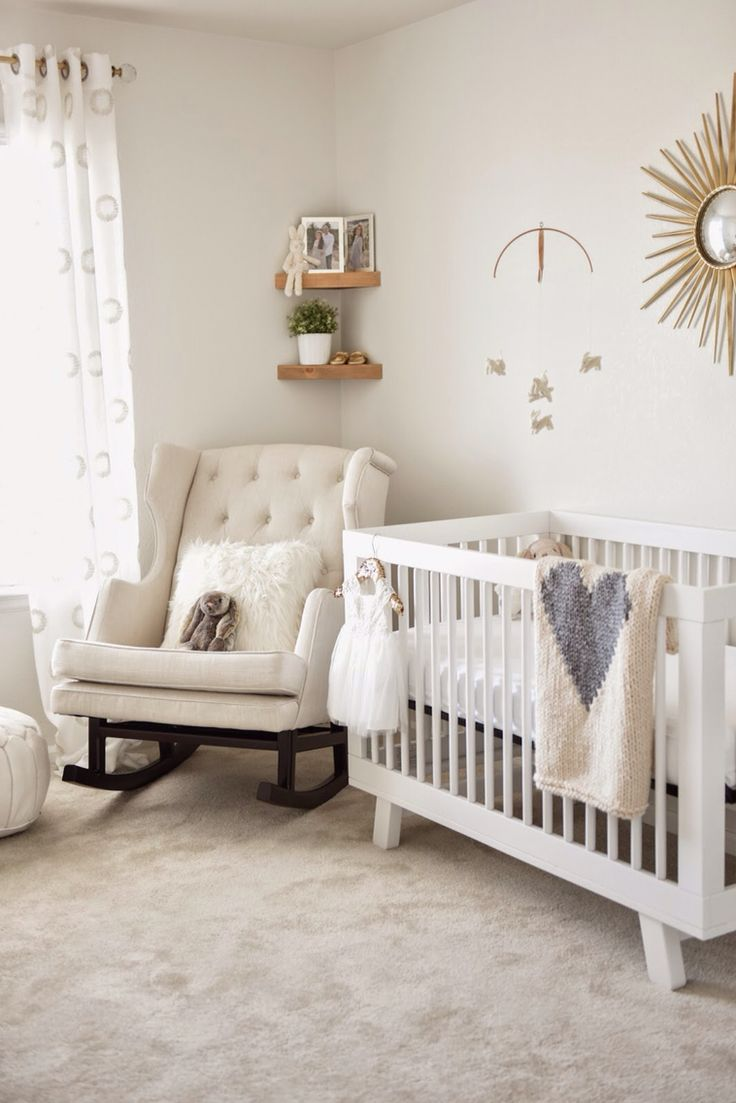 Best 25 Simple baby nursery ideas on Pinterest Baby room