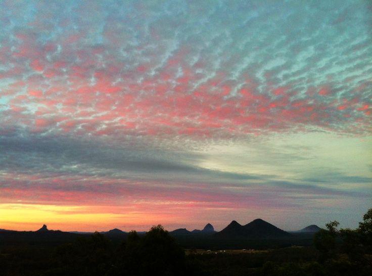 A beautiful sunset sky June 2013