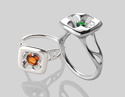 The Modern Classic Solitaire Ring