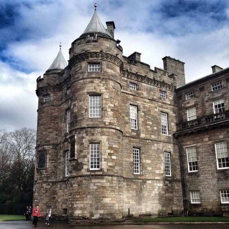 Palace of Holyroodhouse, the residence of Mary, Queen of Scots. Edinburgh. February '14