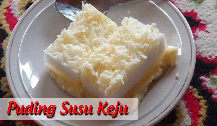 Puding Susu Keju