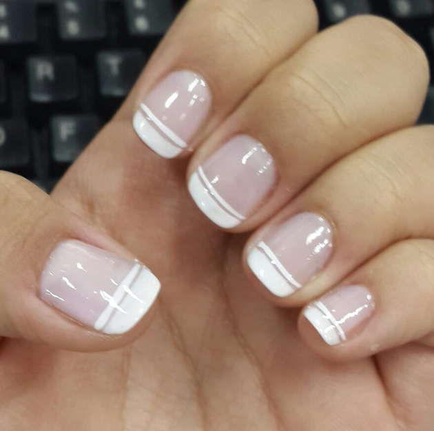 Diseño De Uñas Sencillas Y Elegantes Nails En 2019 Nails Nail