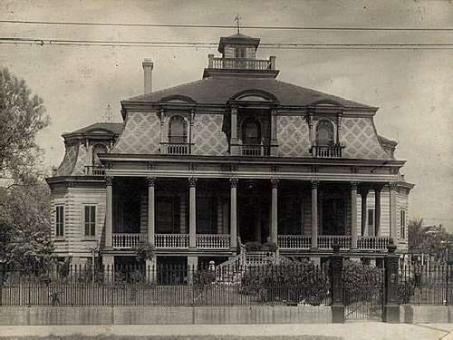 Early Mansions, New Orleans... This site has TONS of NOLA historical info.