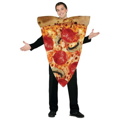 Pizza Costume - Adult  #pizzacostume #pizza #costume #foodcostumes #funnycostumes #costumekingdom