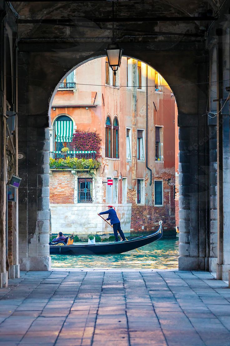 Gondola in Venice, Italy                                                                                                                                                     More