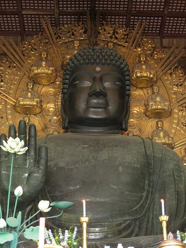 Nara Toudaiji Daibutu, the first world heritage in Japan